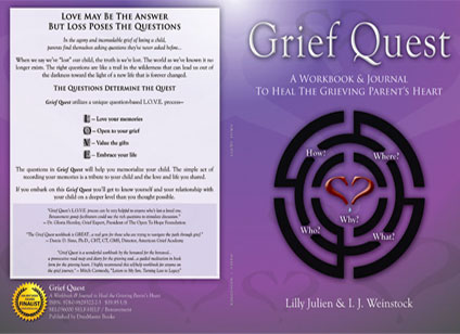 Full cover designed for grief recovery workbook